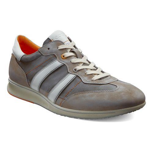 Mens Ecco Jogga Textile Sneaker Casual Shoe - Stone 46