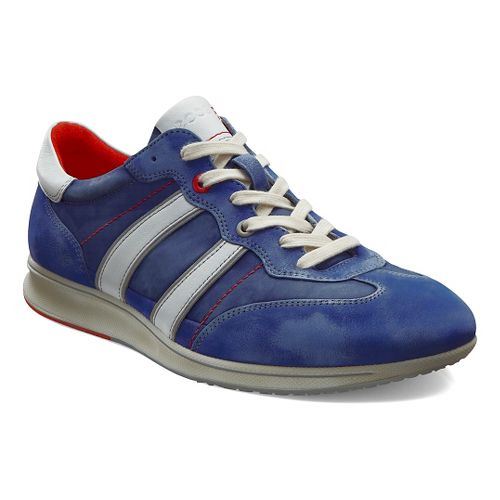 Mens Ecco Jogga Textile Sneaker Casual Shoe - Medieval 44