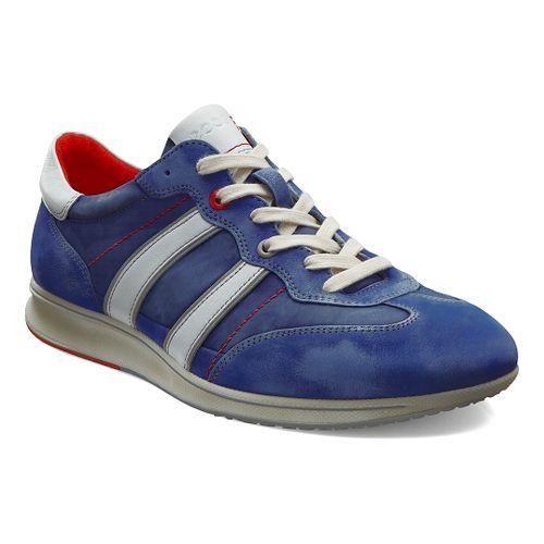Mens Ecco Jogga Textile Sneaker Casual Shoe - Medieval 45