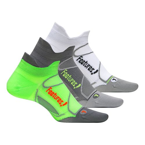 Feetures�Elite Ultra Light No Show Tab 3 pack