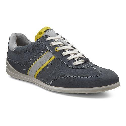 Mens Ecco Chander Sneaker Casual Shoe - Moonless/Bamboo 48