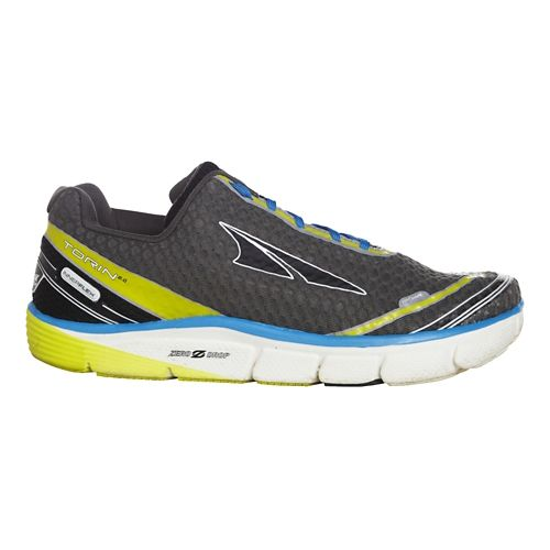 Mens Altra Torin 2.0 Running Shoe - Grey/Lime 12.5