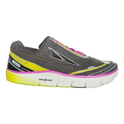 Womens Altra Torin 2.0 Running Shoe - Grey/Pink 6.5
