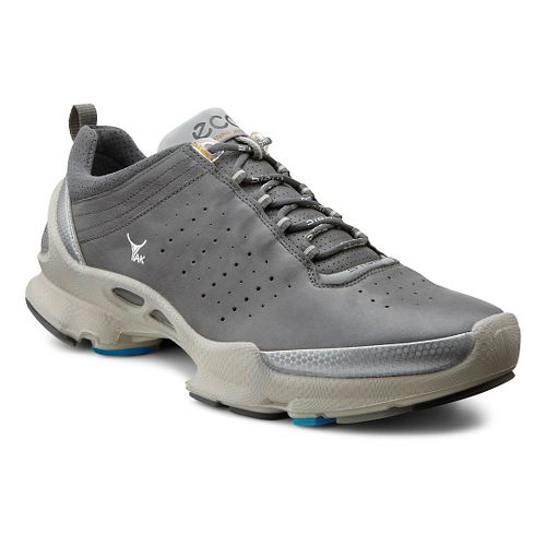 Mens Ecco Biom C 2.1 Walking Shoe - Buffed Silver/Shadow 42