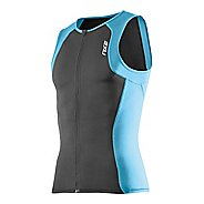 Mens 2XU G:2 Active Tri Singlet Sleeveless Technical Tops