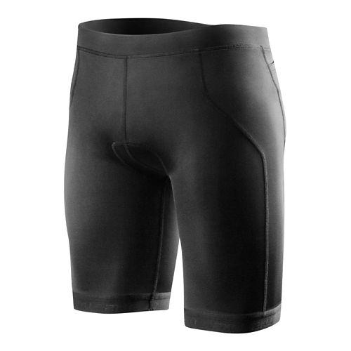 Mens 2XU G:2 Active Tri Unlined Shorts - Charcoal/Lotus Orange L