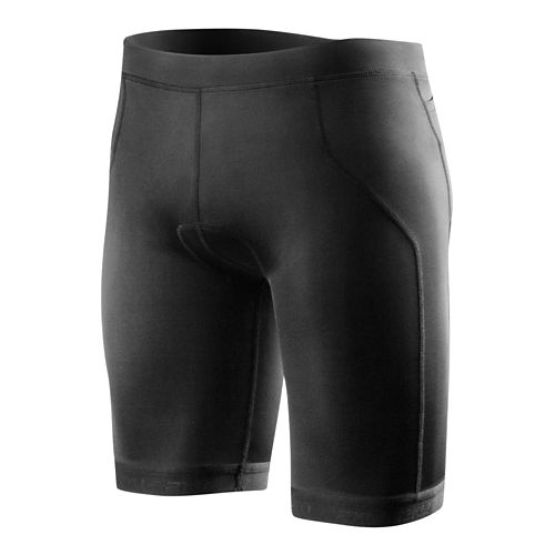 Mens 2XU G:2 Active Tri Unlined Shorts - Black/Scarlet XXL