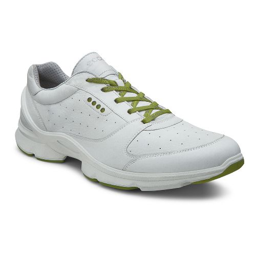 Mens Ecco BIOM EVO II Casual Shoe - White/Herbal 45