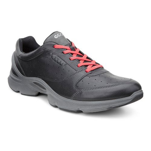 Mens Ecco BIOM EVO II Cross Training Shoe - Black/Red Alert 43