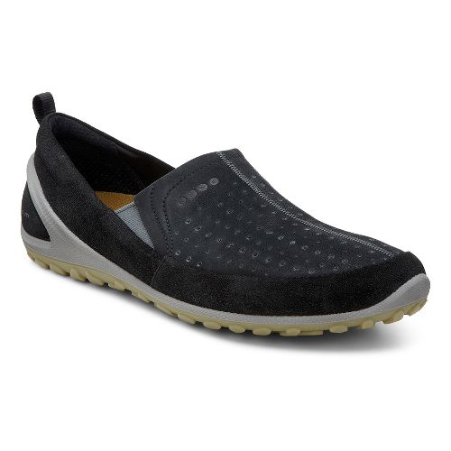 Mens Ecco BIOM Lite Slip-On Casual Shoe - Black/Black 40