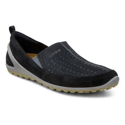 Mens Ecco BIOM Lite Slip-On Casual Shoe - Black/Black 43