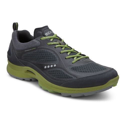 Mens Ecco BIOM Ultra Quest II Cross Training Shoe - Black/Herbal 43