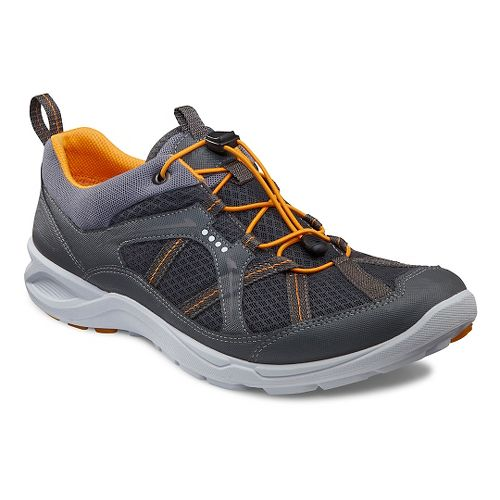 Mens Ecco Terracruise Speed Cross Training Shoe - Dark Shadow/Spice 45
