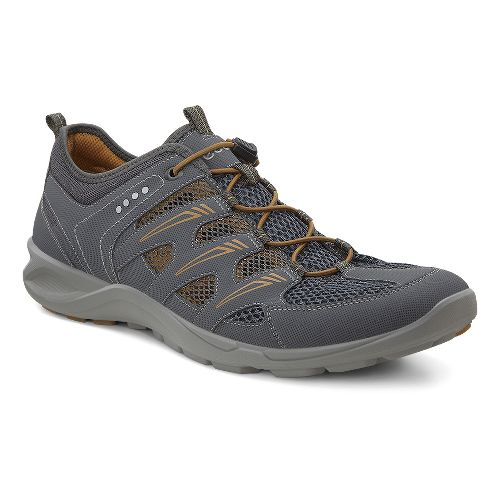 Mens Ecco Terracruise Lite Trail Running Shoe - Dark Shadow/Tobacco 45