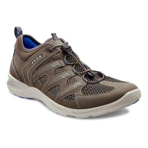 Mens Ecco Terracruise Lite Trail Running Shoe - Warm Grey/Dark Clay 46