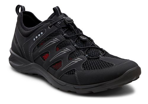 Mens Ecco Terracruise Lite Trail Running Shoe - Black/Black 41