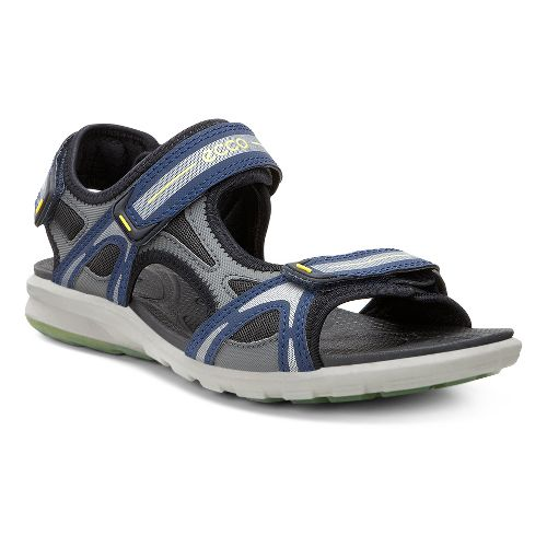 Mens Ecco Cruise Sport Sandals Shoe - Navy/Dark Shadow 39
