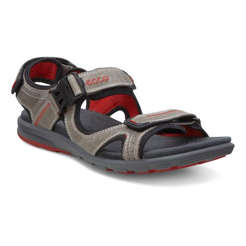 Mens Ecco Cruise Sandals Shoe - Moon Rock 46