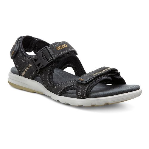 Mens Ecco Cruise Sandals Shoe - Black 39