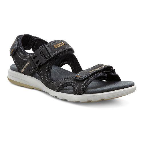 Mens Ecco Cruise Sandals Shoe - Black 45