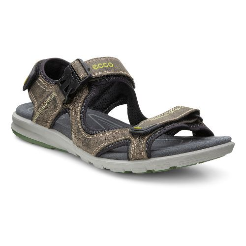 Mens Ecco Cruise Sandals Shoe - Moon Rock 40