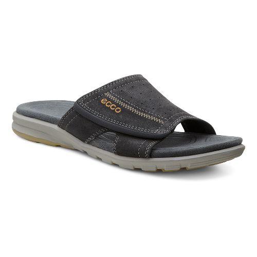 Mens Ecco Cruise Slide Sandals Shoe - Black 40