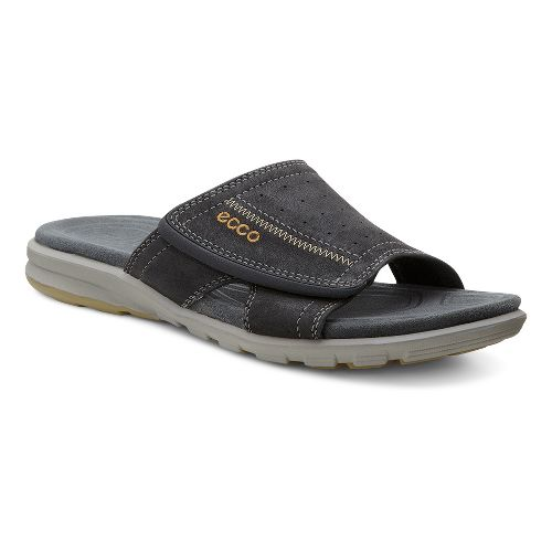 Mens Ecco Cruise Slide Sandals Shoe - Black 47