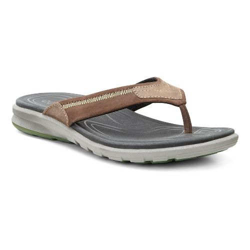 Mens Ecco Cruise Thong Sandals Shoe - Cocoa Brown 46