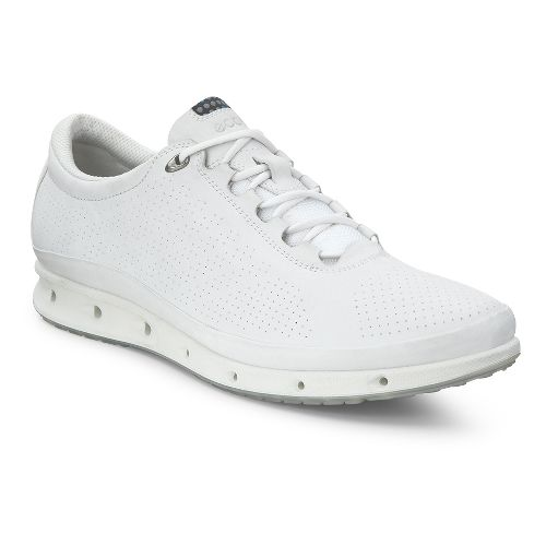 Womens Ecco Cool GTX Casual Shoe - White 40