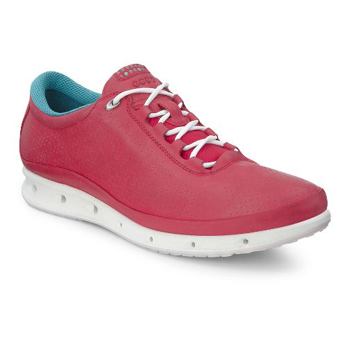 Womens Ecco O2 Casual Shoe - Chili Red 40