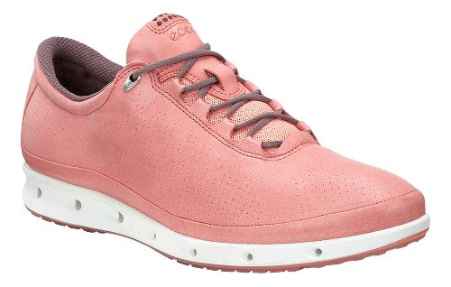 Womens Ecco Cool GTX Casual Shoe - Port/Coral Blush 40