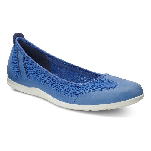Womens Ecco Bluma Summer Ballerina Casual Shoe - Cobalt/Cobalt 40