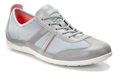 Womens Ecco Bluma Summer Sneaker Casual Shoe - Wild Dove/Concrete 39