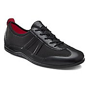 Womens Ecco Bluma Summer Sneaker Casual Shoe - Black/Black 38