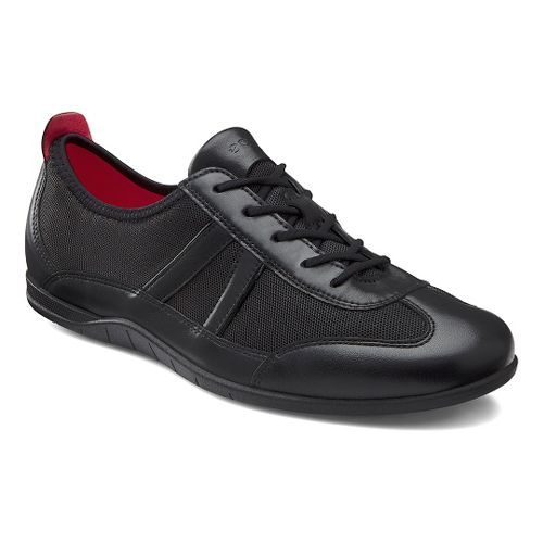 Womens Ecco Bluma Summer Sneaker Casual Shoe - Black/Black 40