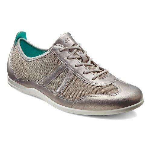 Womens Ecco Bluma Summer Sneaker Casual Shoe - Moon Rock/Moon Rock 36