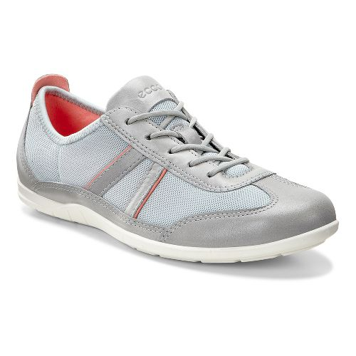 Womens Ecco Bluma Summer Sneaker Casual Shoe - Wild Dove/Concrete 36