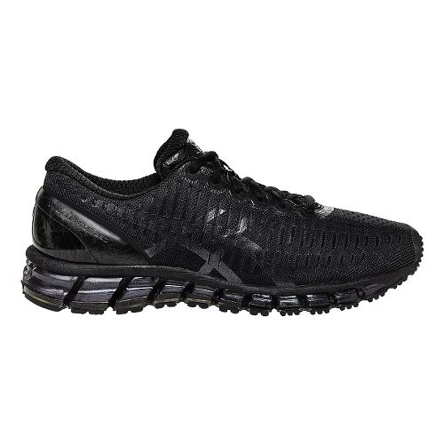 Mens ASICS GEL-Quantum 360 Running Shoe - Black/Black 12.5