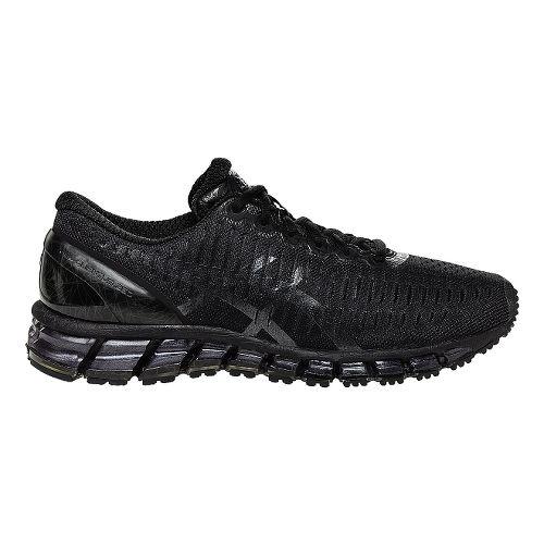 Mens ASICS GEL-Quantum 360 Running Shoe - Black/Black 12.5