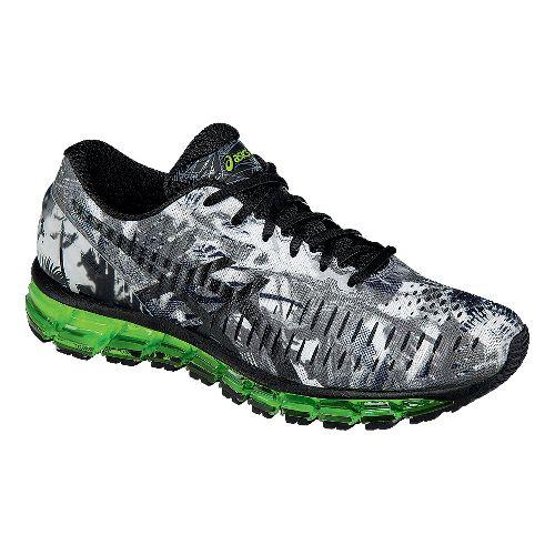 Mens ASICS GEL-Quantum 360 Running Shoe - White/Black 10