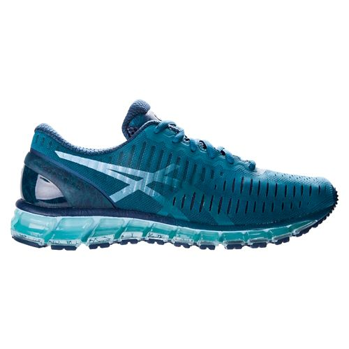 Mens ASICS GEL-Quantum 360 Running Shoe - Ocean/Crystal Blue 7