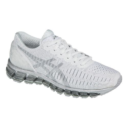 Womens ASICS GEL-Quantum 360 Running Shoe - White/Snow 8