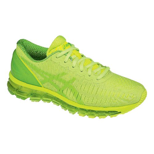 Womens ASICS GEL-Quantum 360 Running Shoe - Green/Yellow 9.5