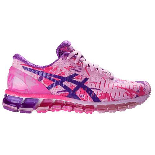 Womens ASICS GEL-Quantum 360 Running Shoe - Pink/Orchid 7