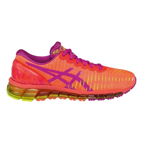 Womens ASICS GEL-Quantum 360 Running Shoe - Coral/Pink 8.5