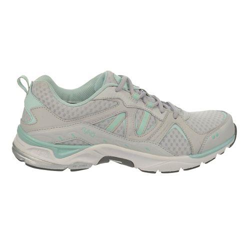Womens Ryka Revenant Walking Shoe - Cool Mist Grey/Mint 8.5