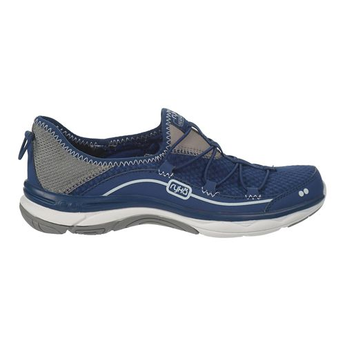 Womens Ryka Feather Pace Walking Shoe - Jet Ink Blue/Grey 10.5