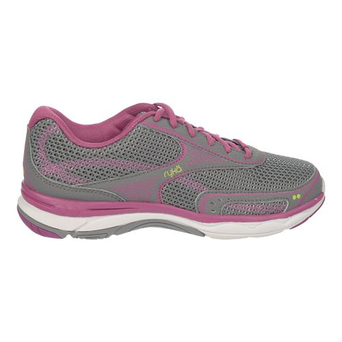 Womens Ryka Feather Walk Walking Shoe - Frost Grey/Mauve 6.5