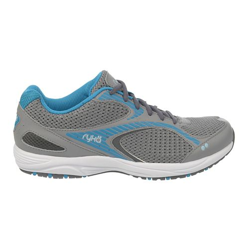 Womens Ryka Dash 2 Walking Shoe - Frost Grey/Iron Grey 9.5