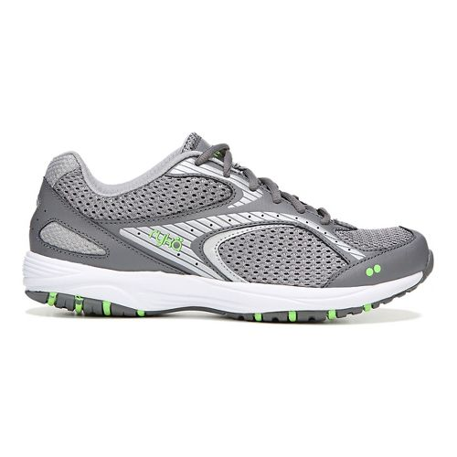 Womens Ryka Dash 2 Walking Shoe - Grey/Silver 10